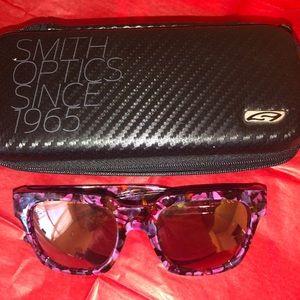 Smith Optics mirrored sunglasses